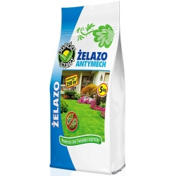 Hierro anti-musgo - el fertilizante anti-musgo más eficaz - Ogród-Start® - 5 kg -