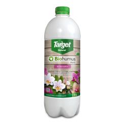 Biohumus MAX-STORCZYK - Fertilizante vermicompost 100% orgánico - Target® - 1 litro -