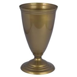 """Visoka vitka vaza """"Polo"""" - zlata -"""