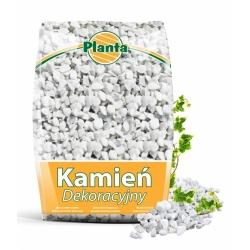 Білий кам'яний гравій - Carrara White - 12 - 16 мм - Planta - 20 кг -