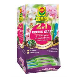 2-vienā-Orchid Start barības viela - orhidejām pēc ziedu krišanas - Compo® - 1 x 30 ml -