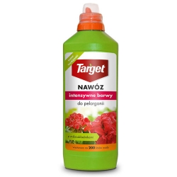 """Fertilizzante liquido al geranio """"Intensywne Barwy"""" (colori vivaci) - Target® - 500 ml -"""