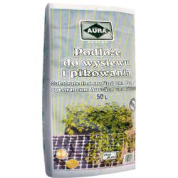Seeding soil - 50 litres - Aura - professional gardening materials