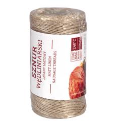 Dây bện vải lanh mờ - 100 g - lò nướng lên đến 240 ° C -