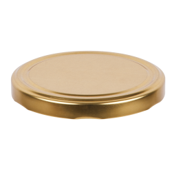 Златни поклопци за стакленке - ø 66 мм - 10 ком -
