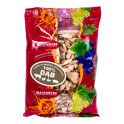 Wood chips for smoking and barbecuing - 100% oak - 0.45 kg
