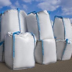 Konteyner torbası - açık, manşonlu - Big-Bag - 90 x 90 x 120 cm -