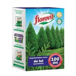 """""""100 dni"""" (100 dienas) mēslojums tūjām (arbovitaes) - Florovit® - 1 kg -"""