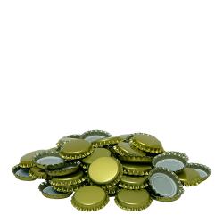Золотые коронки ø 26 мм - 100 шт. -