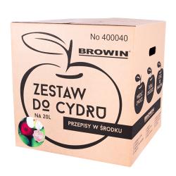 Set pembuatan sari lengkap dengan fermentor 20 liter - ide hadiah ideal! -