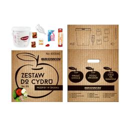 Susun pembuatan cider lengkap dengan fermenter 20 liter - idea hadiah ideal! -