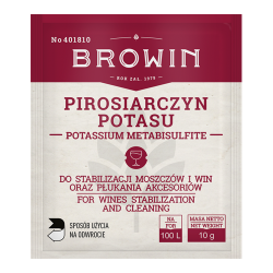 Kálium-metabiszulfit - a must és a bor stabilizálásához - 10 g -