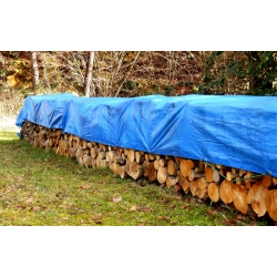 Ponyva, ponyva fedél - 6 x 12 m - kék -