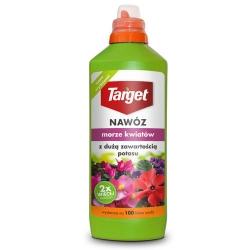 """Kvapalné hnojivo s vysokým obsahom draslíka """"Morze Kwiatów"""" (More kvetov) - Target® - 1 liter -"""