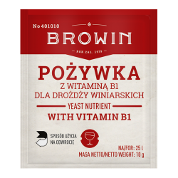 Nutrisi yis wain - dengan vitamin B - 10 g -