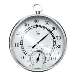 الفضة محطة الطقس شنقا - الرطوبة ومقياس الحرارة -