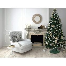"""Soporte para árbol de Navidad """"Orbit"""" - 39,5 cm - plateado -"""
