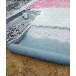 Szürke geo-gyapjú - talajtakaráshoz - 1,00 x 10,00 m -