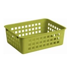 Skladovací kôš zelený - 25 x 17 cm -