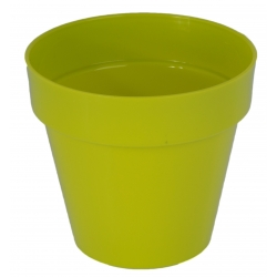 "Estuche redondo ""Ibiza"" - 18 cm - verde pistacho -"