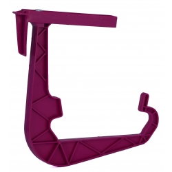 "Holder for ""Gala/ Lotos"" balcony boxes - blueberry-purple"