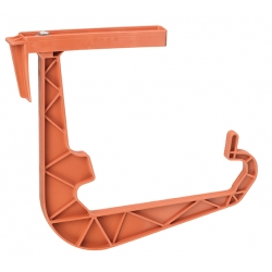 "Holder for ""Gala/ Lotos"" balcony boxes - terracotta-coloured"
