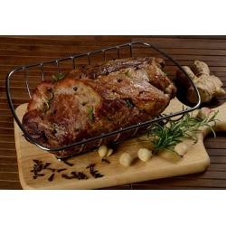 Húsos sütőkosár - ideális nagy húsdarabok grillezéséhez -