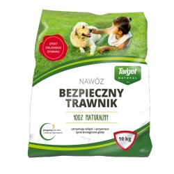 Bezpieczny Trawnik (Safe Lawn) - compost-based lawn fertilizer - Target - 10 kg