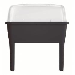 Koduaed kaanega jalgadel - Indoor Mini Greenhouse Respana Planter Set - 77 cm - antratsiithall -