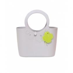 Lengan beg elastik dan tahan lasak - 30 cm - blueberry cahaya -