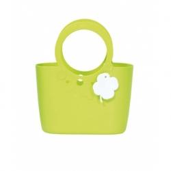 Еластична и издржљива торба од љиљана - 30 цм - лименозелена -