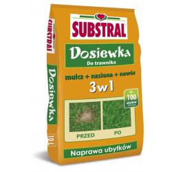 Paquete de resiembra de césped - llena hasta 100 huecos - Substral® - 10 litros -