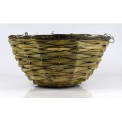 Wickerwork hanging flower basket - 30 cm - model HB9009