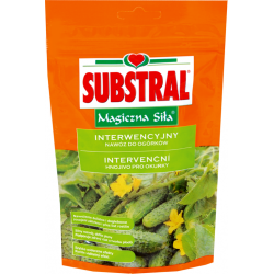 """Intervention fertilizer for cucumbers """"Magic Strength"""" - Substral - 350 g"""