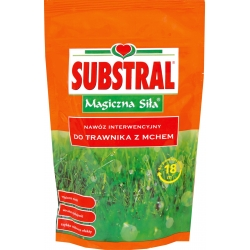 """Intervention fertilizer for lawn with moss """"Magic Strength"""" - Substral - 350 g"""