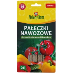 Fertilizer sticks with mycorrhiza for tomatoes, peppers and cucumbers - Zielony Dom® - 20 pcs