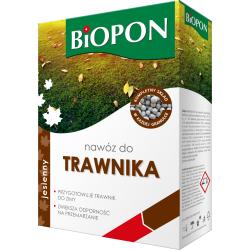 Sügisene muruväetis - karastab ja kaitseb muru enne talve - Biopon - 3 kg -