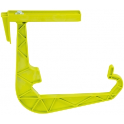 "Conjunto de caja de balcón ""Lotos"" - verde pistacho - 60 cm -"