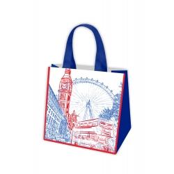 Iepirkumu soma - European Travels - London - 34 x 36 x 22 cm -