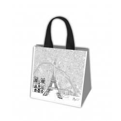 Iepirkumu soma - Eiropas ceļojumi - Parīze - 34 x 36 x 22 cm -