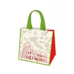 Iepirkumu soma - Eiropas ceļojumi - Roma - 34 x 36 x 22 cm -