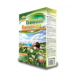 Flowery lawn - lawn grass and flower seed selection - 0.9 kg