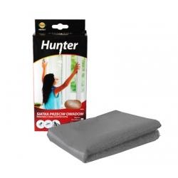 صفحه مش محافظ حشرات پنجره خاکستری با نوار چسب - 130 x 150 سانتی متر - شکارچی -