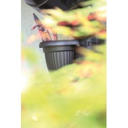 Hanging flower pot - Terra - 28 cm - Anthracite