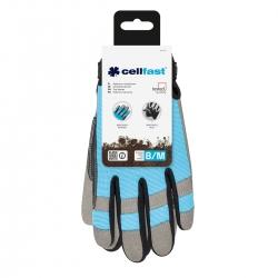 Sarung tangan bengkel berkualitas tinggi - ERGO - 8 / M - CELLFAST -