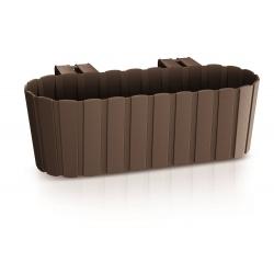 """Caja colgante para plantas """"Boardee Hook"""" - 38,3 cm - marrón -"""