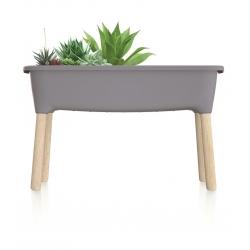Koduaed puittaladel - Respana Planteri siseruumides asuv minikasvuhoone - 77 cm - kivihall -