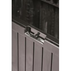 "Сундук для сада, балкона или террасы - ""Boxe Board"" - 290 л - умбер -"