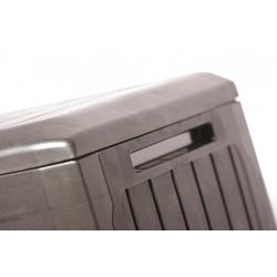 """Сундук для сада, балкона или террасы - """"Boxe Board"""" - 290 литров - серый антрацит -"""
