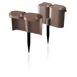 Палисад с улиткой против улитки Палисада Улитка - 1,9 м - коричневый -